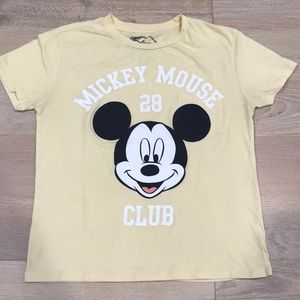 Disney Mickey Mouse Club Women's Medium Tee